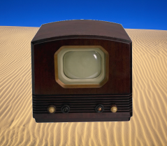 Television in the desert